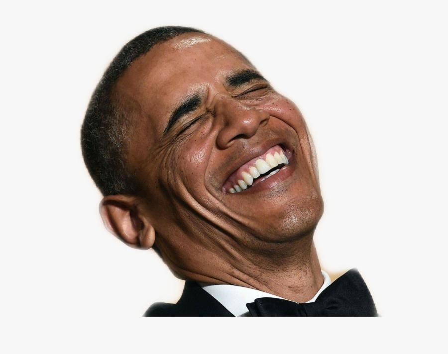 Obama Laugh Obama Laughing Transparent Free Transparent Clipart Clipartkey