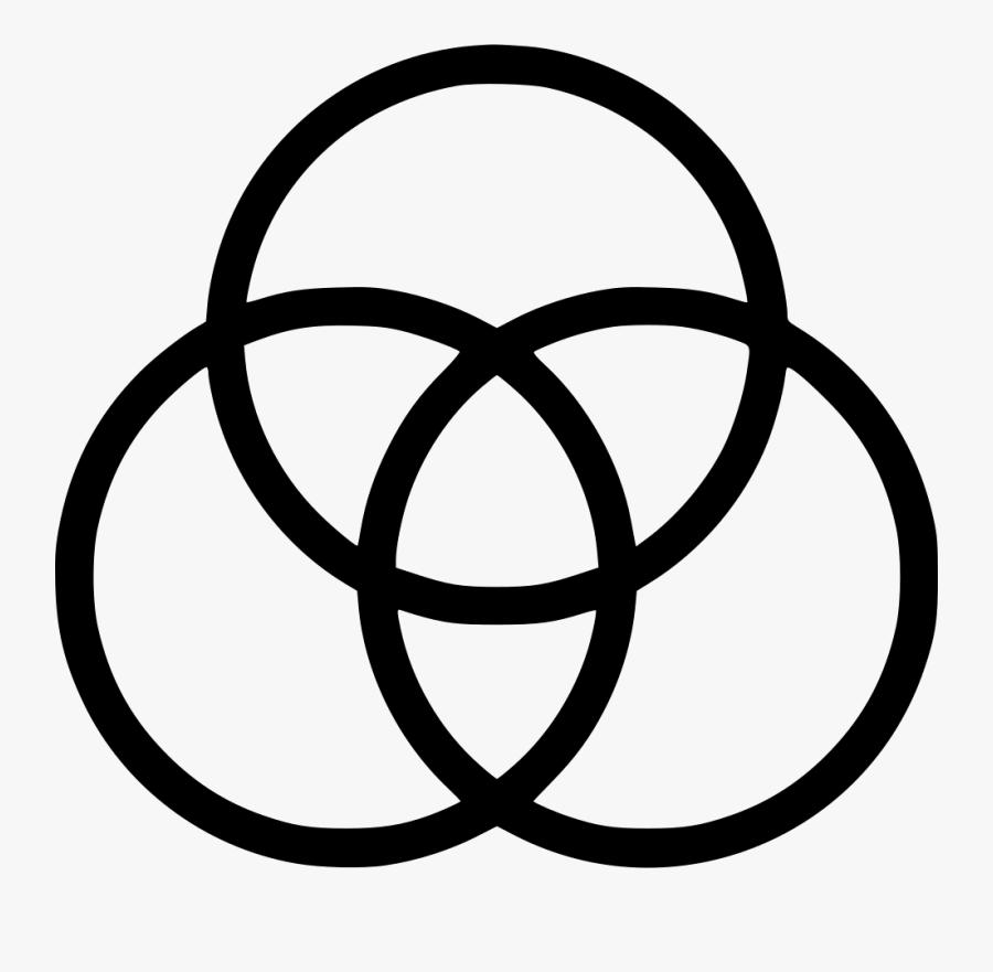 Venn Diagram - Venn Icon, Transparent Clipart