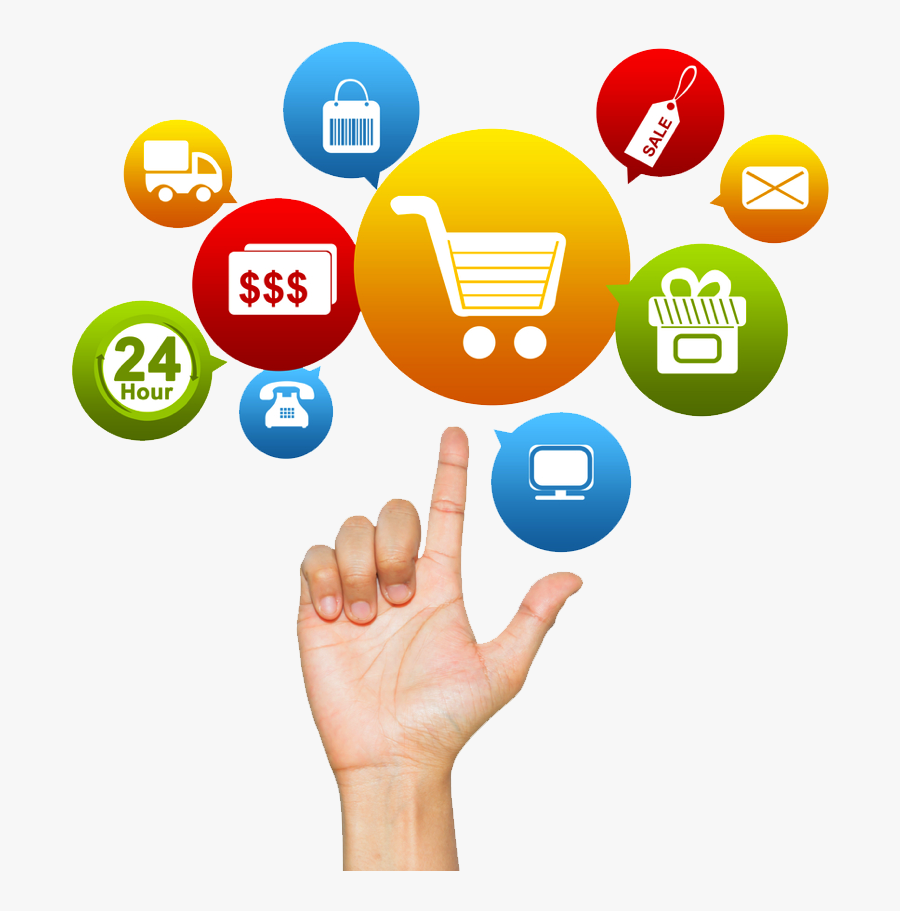 Online Shopping Free Png Image - Advantages Of E Shopping, Transparent Clipart