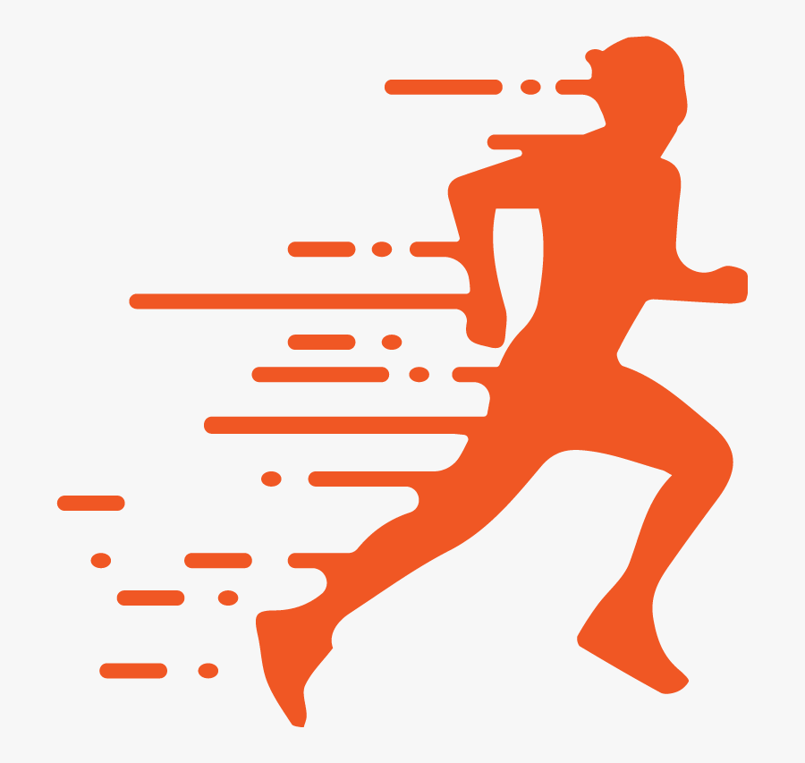 Transparent Track Runner Clipart - Runner Silhouette Png, Transparent Clipart