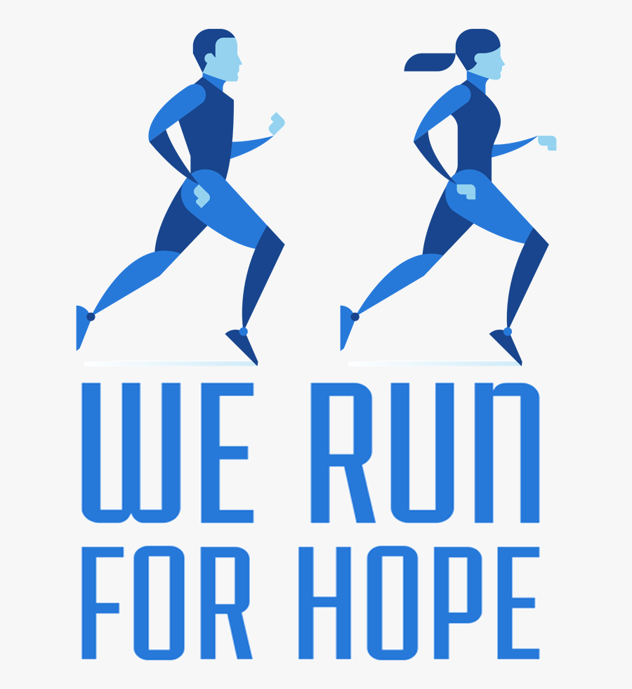 We Run For Hope - We Run For Hope 5k, Transparent Clipart