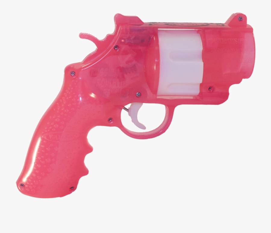 Pistol,product,water Gun,gun Accessory,gun Barrel,ranged - Russian Roulette Gun Drinking Game, Transparent Clipart