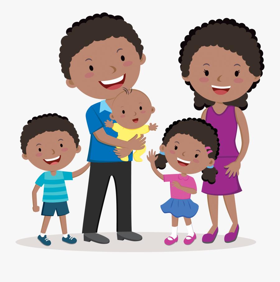 Happy Family Picture Clip Art, Transparent Clipart