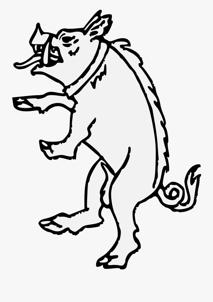 Wild Boar Clipart , Png Download - Cartoon, Transparent Clipart