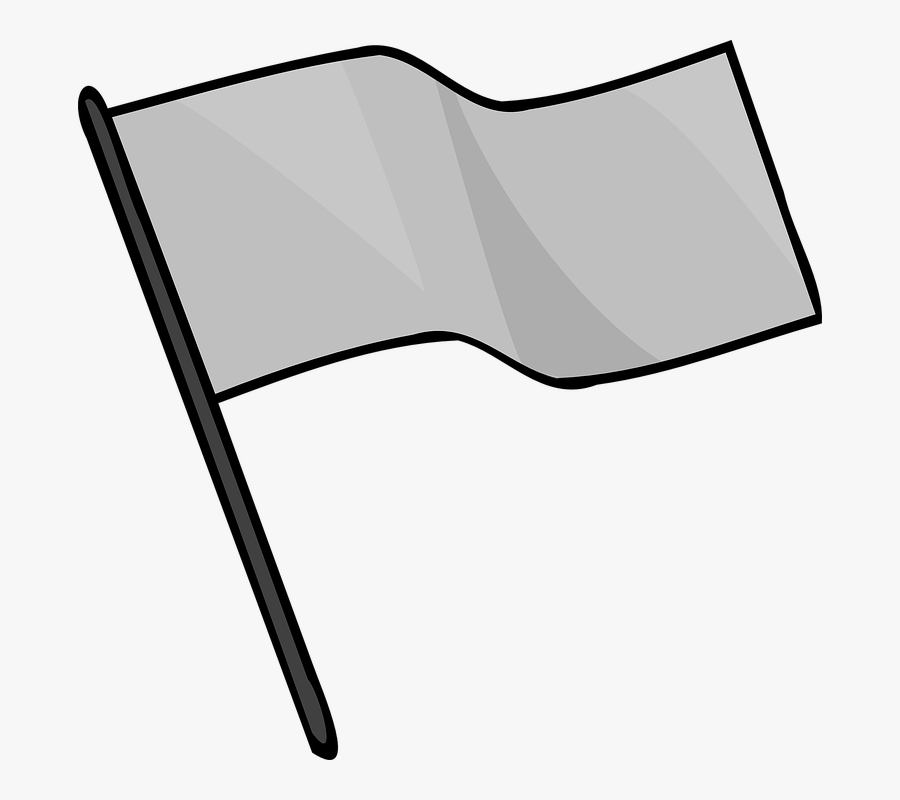 Gray, Flag, Capture, Signal, Sport, Game - Capture The Flag Png, Transparent Clipart