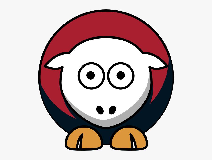 Sheep - Iupui Jaguars - Team Colors - College Football - College Football, Transparent Clipart