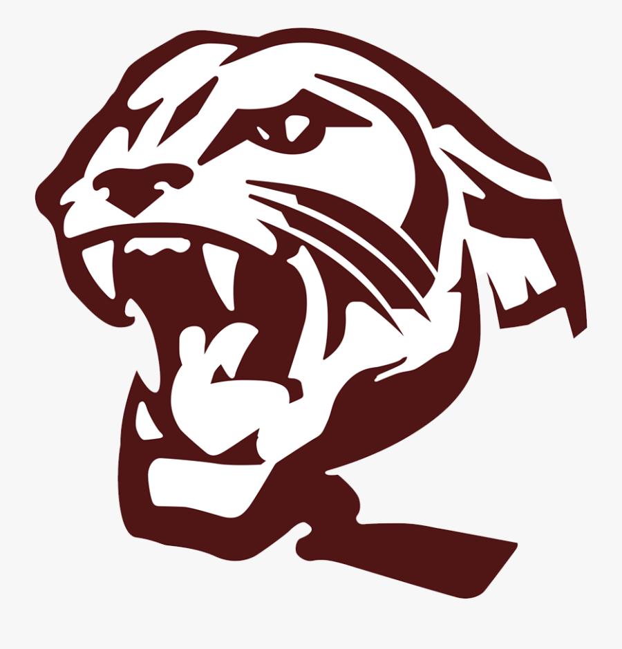 Transparent Panther Head Clipart - Benton High School Panther, Transparent Clipart