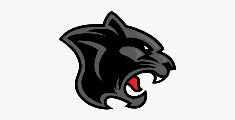 Black Panther Leopard Cougar - Von Steuben High School Logo, Transparent Clipart