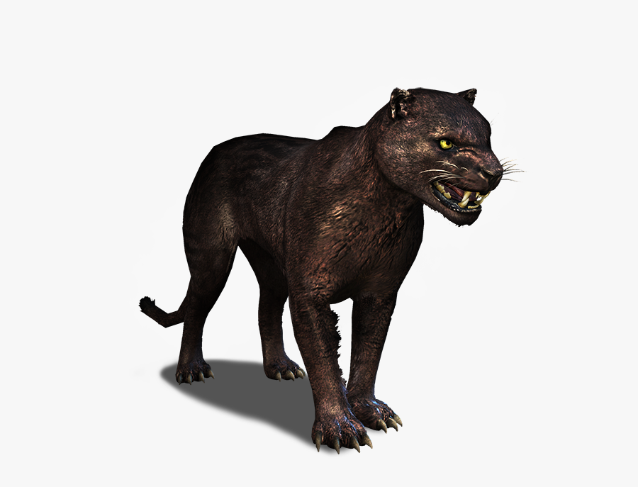 Transparent Panther Cub Clipart - Black Panther, Transparent Clipart