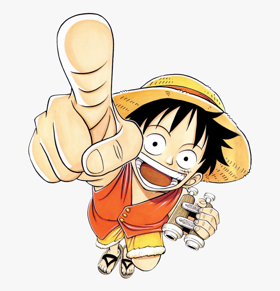 One Piece Clipart Transparent - One Piece Luffy Manga Art, Transparent Clipart