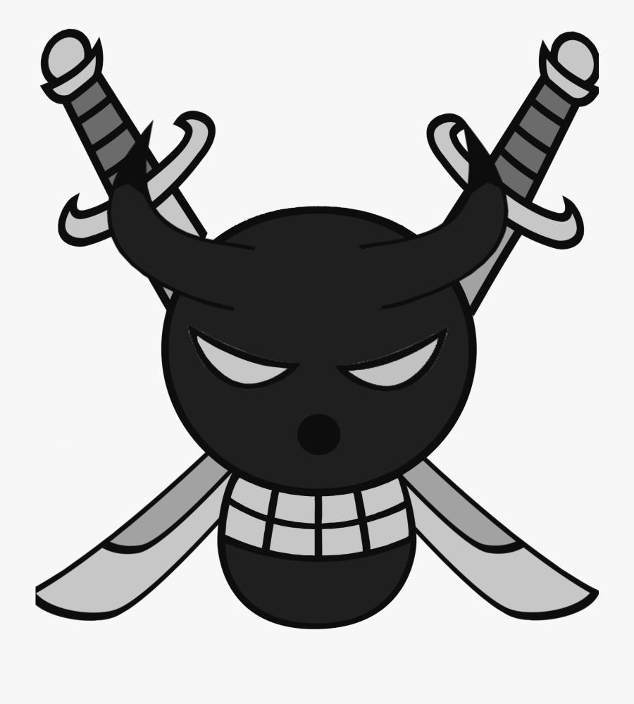 Transparent Pirate Flag Clipart - Custom One Piece Pirate Flags, Transparent Clipart