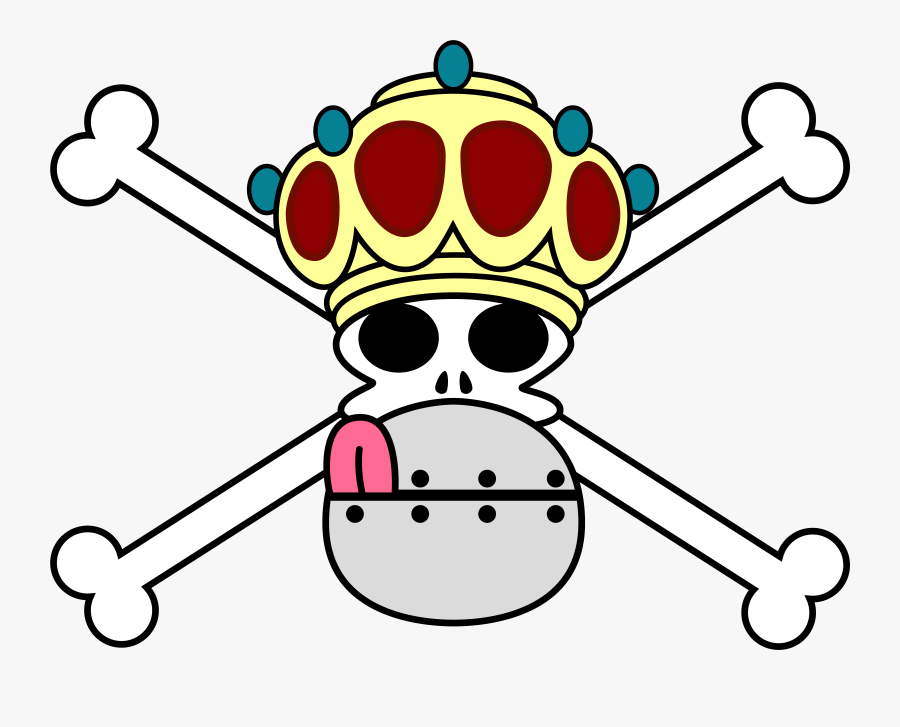 One Piece Clipart At Getdrawings - One Piece Custom Pirate Flag, Transparent Clipart