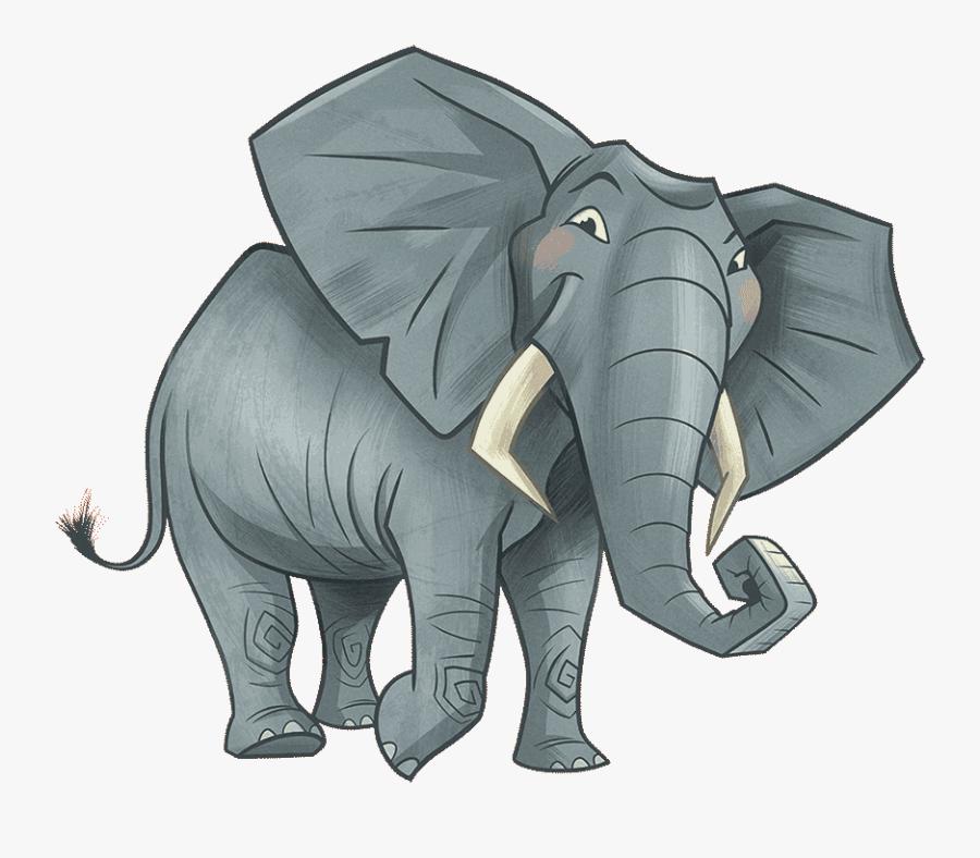 Clipart Elephant School Png, Transparent Clipart
