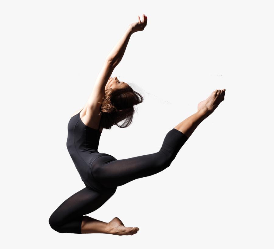 Ballet Contemporary Dancer Clipart - Contemporary Dance Png, Transparent Clipart
