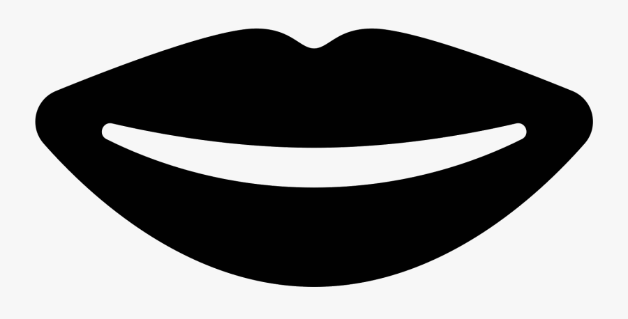 Lips Icon Png - Circle, Transparent Clipart