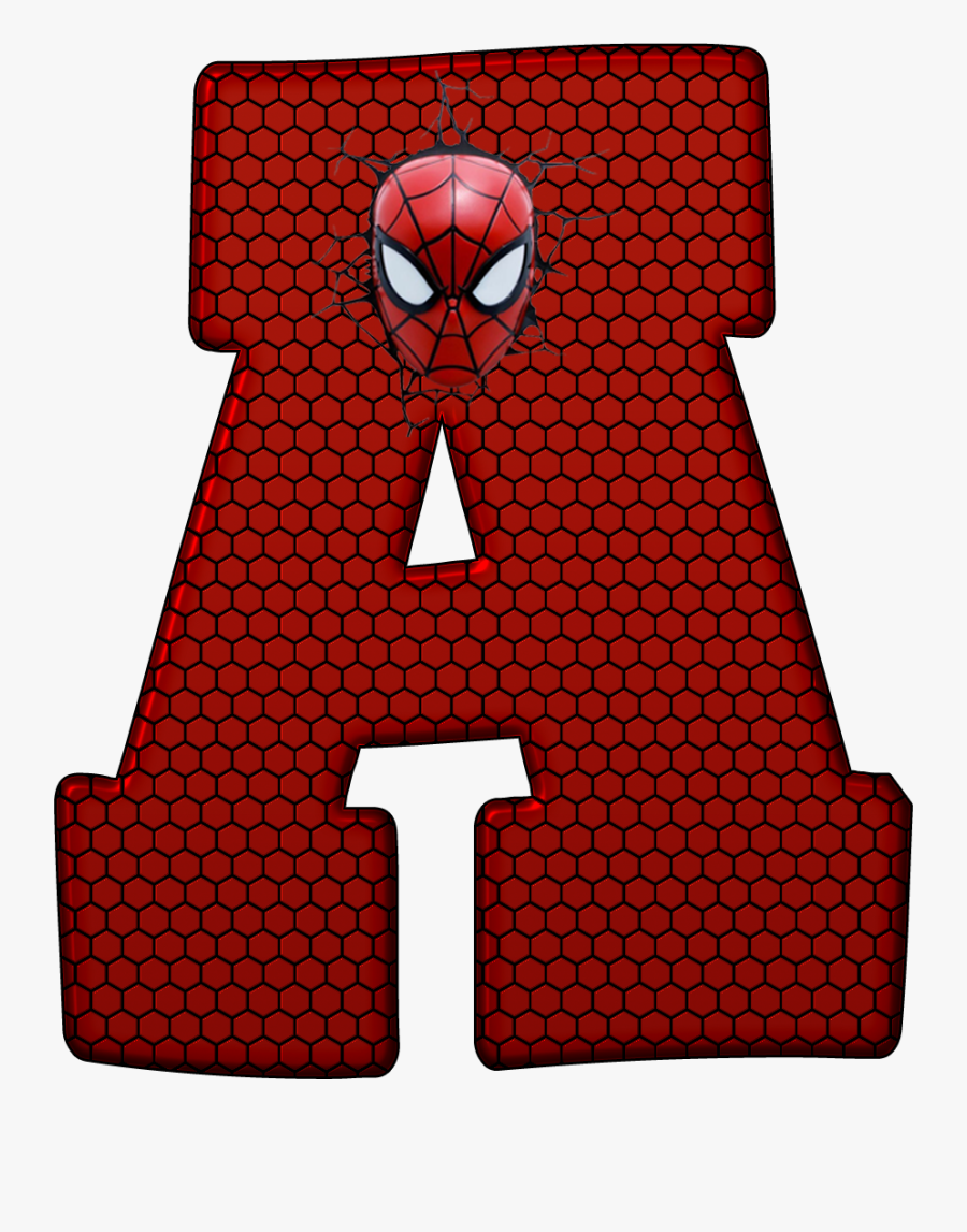 Ariana Grande Clipart Red - Spiderman Letter, Transparent Clipart