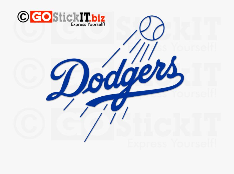 Transparent Los Angeles Dodgers Logo Png, Transparent Clipart