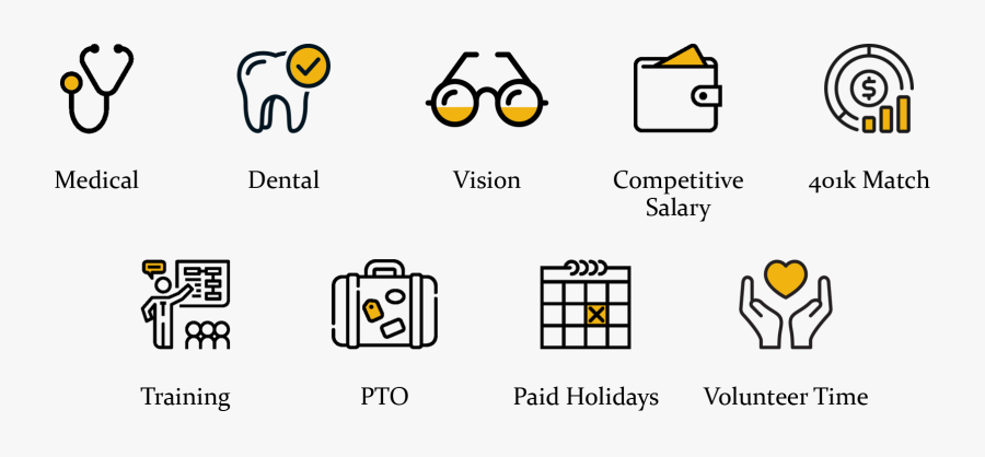 Transparent Vision Icon Png - Salary And Benefits Icon, Transparent Clipart