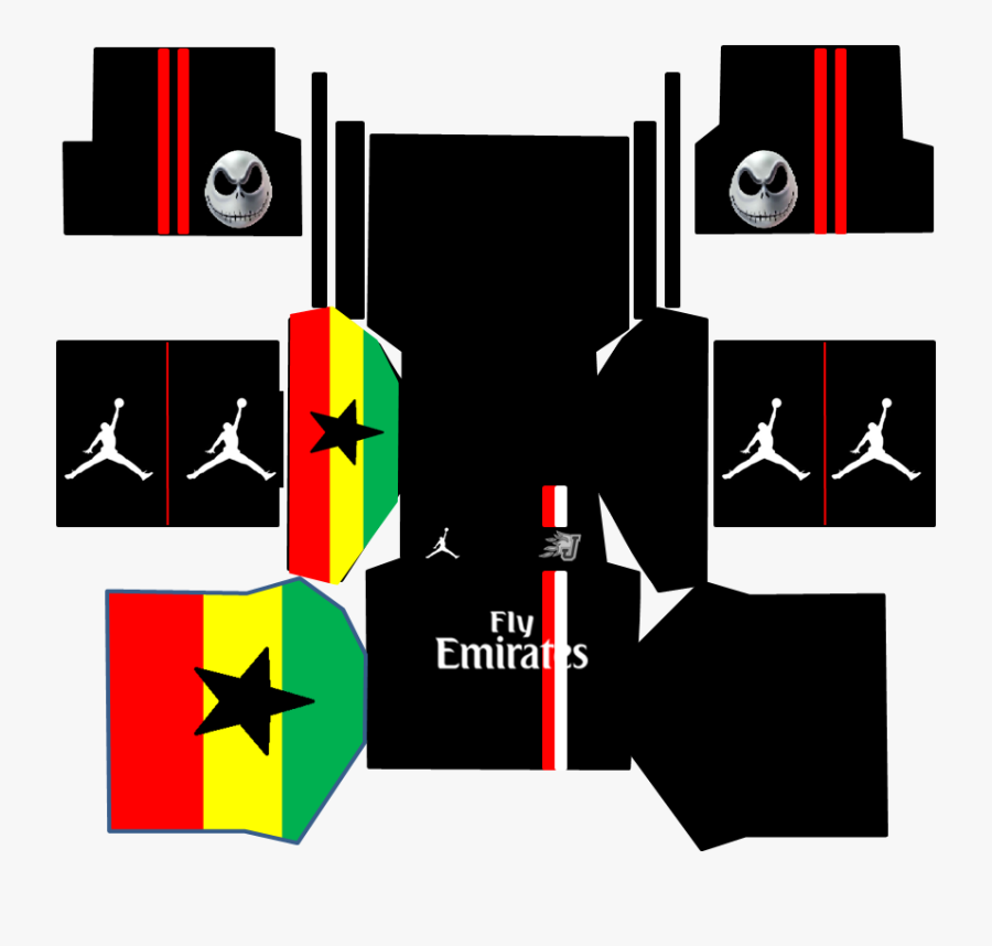 Dream League Soccer Kits Jordan - Download Kit Dream League Soccer, Transparent Clipart