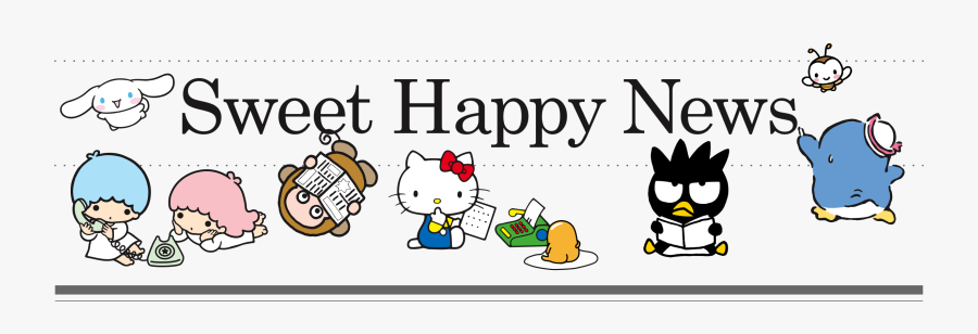 At Universal Studios Sweet - Happy New Year 2019 Hello Kitty, Transparent Clipart