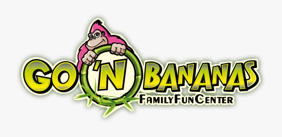 Congratulations Go 'n Bananas Family Fun Center - Go N Bananas Logo, Transparent Clipart