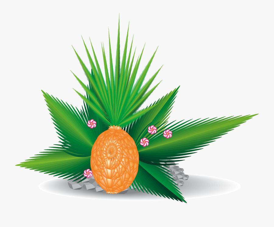 Palm Leaves Clipart, Transparent Clipart
