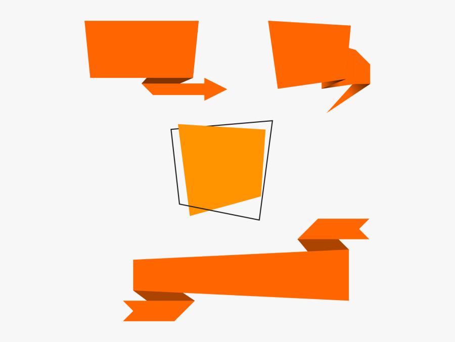 Vector Psd Text Box Png Download - Banner Vector Png, Transparent Clipart