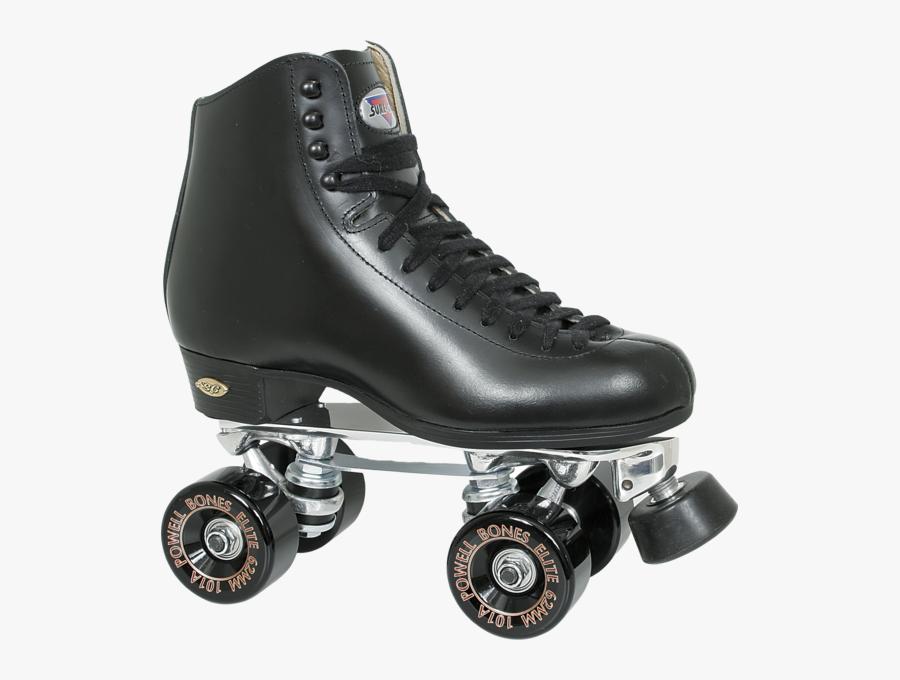 Share This Image - Black Roller Skates Png, Transparent Clipart