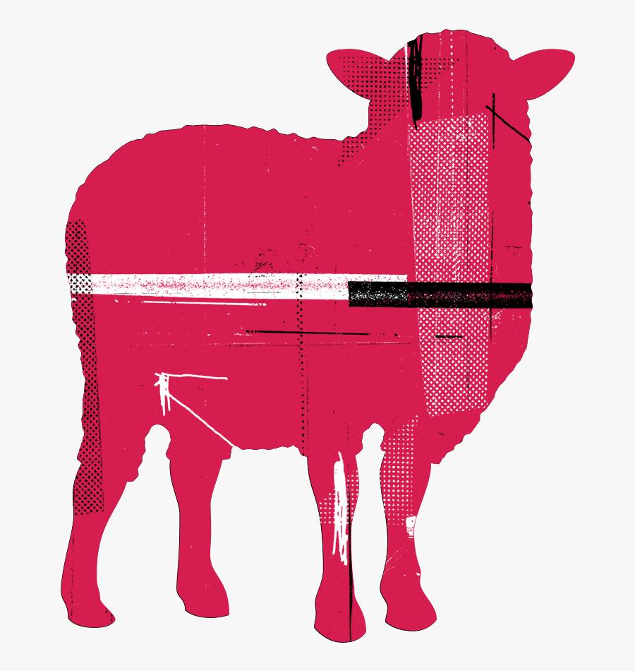 Transparent Flock Of Sheep Clipart - Black Sheep Agency Logo, Transparent Clipart