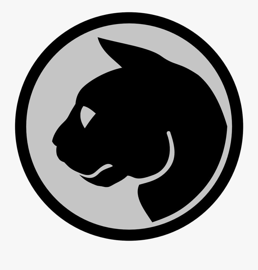 Cat Head Logo Free Picture - Tux Exchange, Transparent Clipart