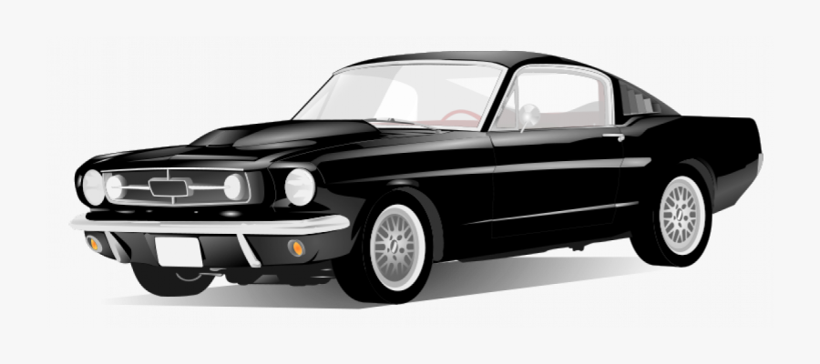 Bobocal American Sport Car - Sports Car Clipart Black And White, Transparent Clipart