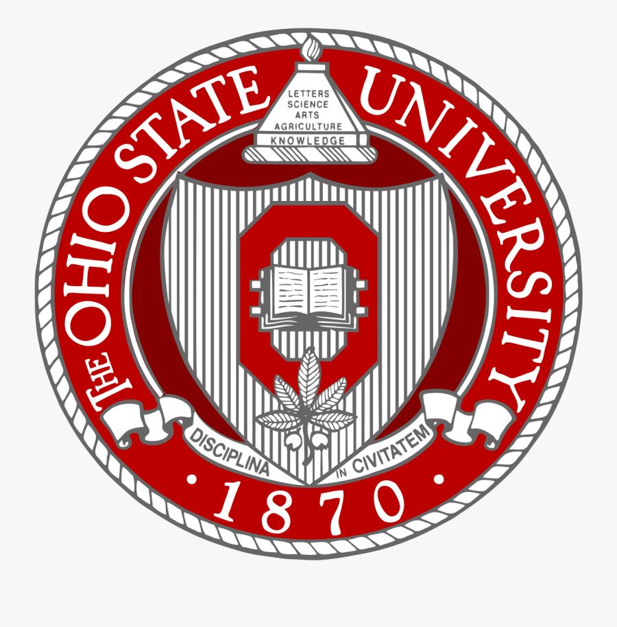 Ohio State University Seal, Transparent Clipart