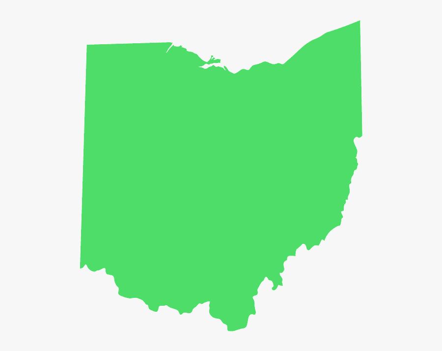 Ohio Congressional Map 2010, Transparent Clipart