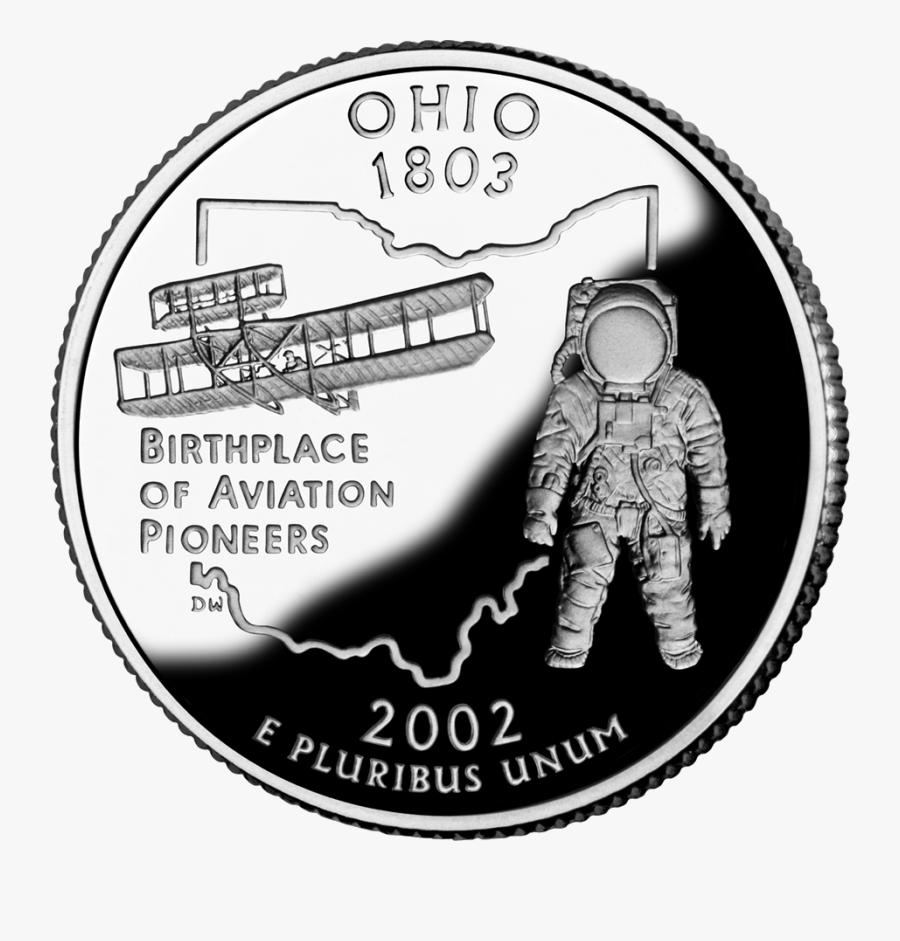 Ohio State Quarter, Transparent Clipart