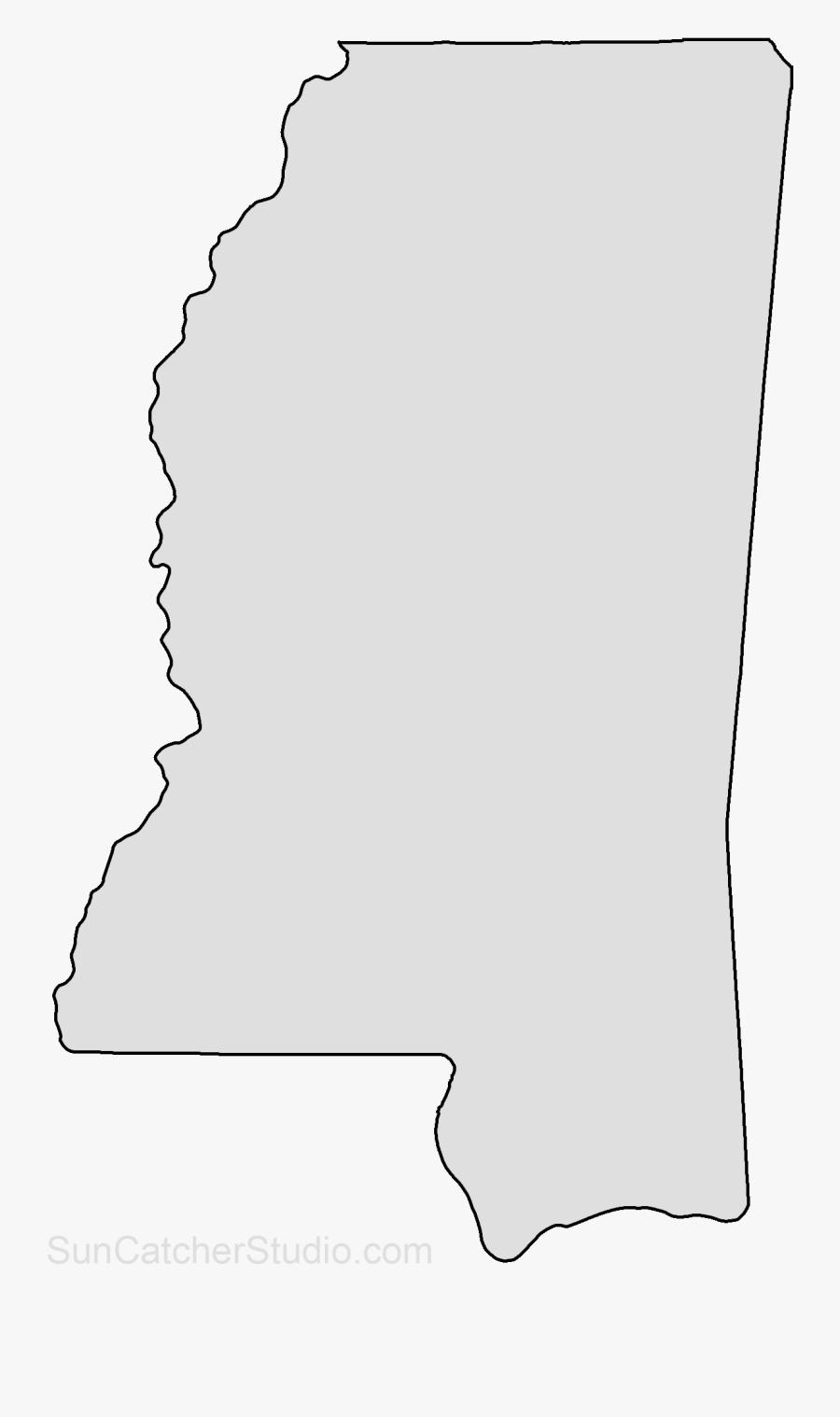 Ohio State University Alpha Phi Alpha Florida International - Mississippi Shape Of State, Transparent Clipart