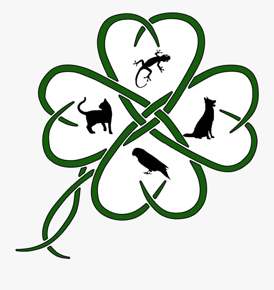 Celtic Knot Clipart , Png Download - Clover Tattoo Design, Transparent Clipart
