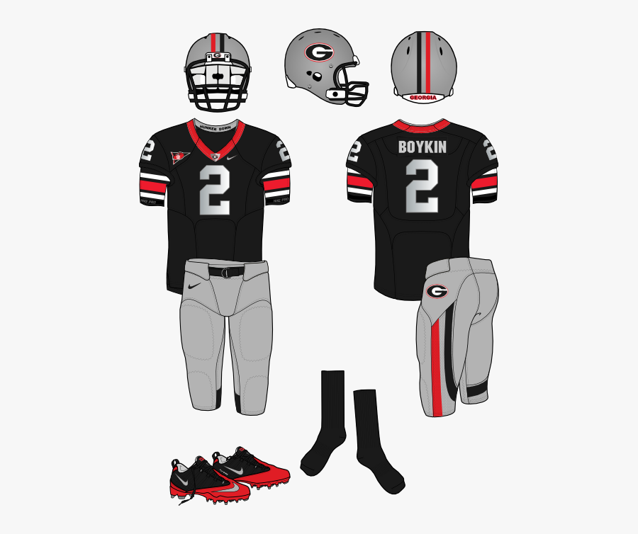 And Told Me He Liked The Look And If Ohio State Ever - History Of Georgia Football Uniforms, Transparent Clipart