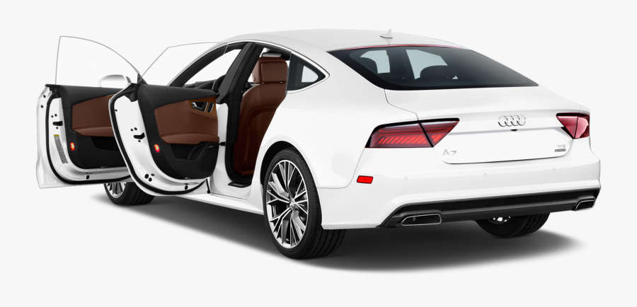 Transparent Audi Car Png - 4 Door White Maserati, Transparent Clipart