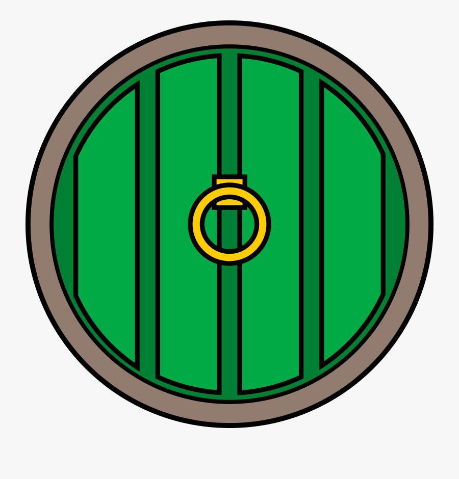 Clipart - Hobbit Door Vector, Transparent Clipart
