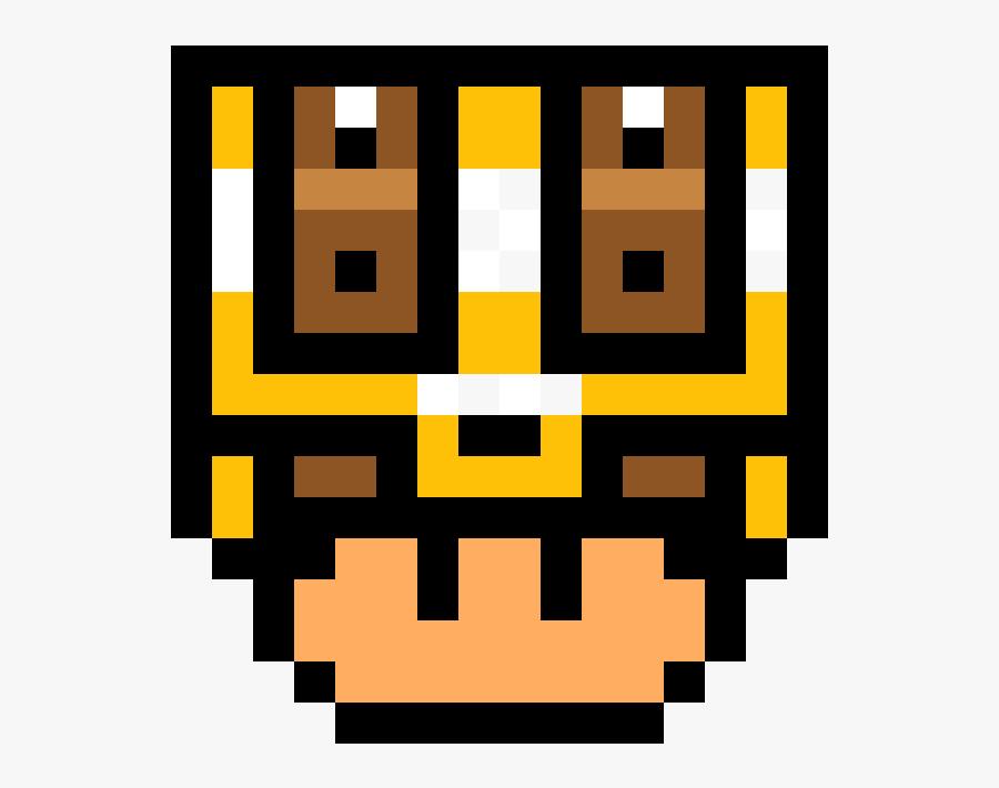Mario Blue Mushroom Pixel Art Free Transparent Clipart Clipartkey