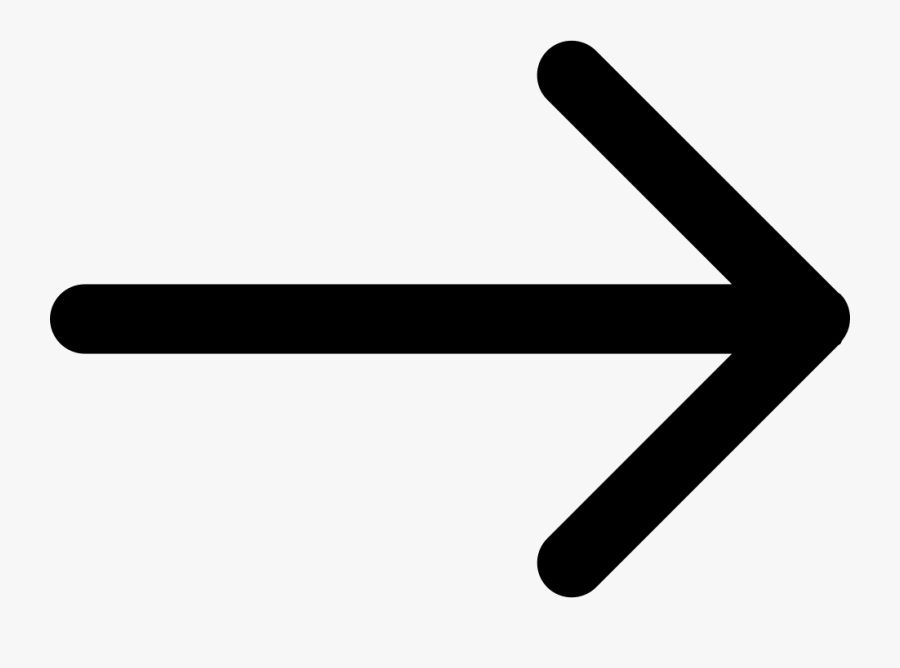 Right Arrow Of Straight Lines Comments - Right Arrow Key, Transparent Clipart