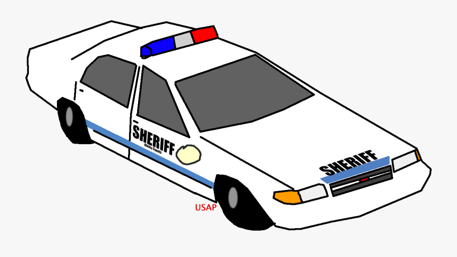 Counties And Jurisdictions - Gta 5 Police Car Drawing, Transparent Clipart