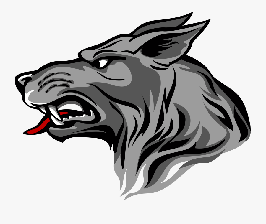 Real Wolf Png - Coat Of Arms Wolf Head, Transparent Clipart