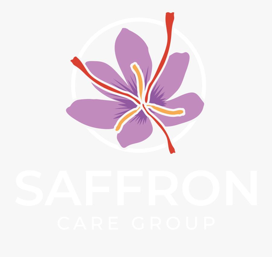 Saffron Logo, Transparent Clipart