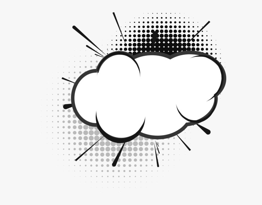 Creative Speech Bubble Png Image Free Download Searchpng - Transparent Pop Art Speech Bubble Png, Transparent Clipart