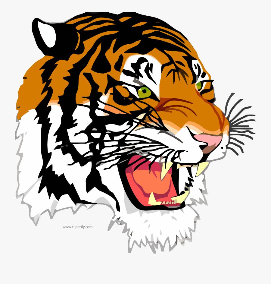 Tigger Face Clipart Png Image Download - Jim Hill High School Logo, Transparent Clipart