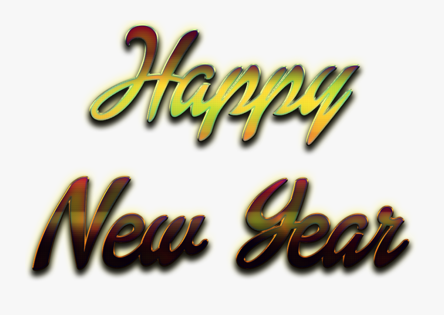 Transparent New Years Eve 2016 Png - Happy New Year Transparent Background, Transparent Clipart