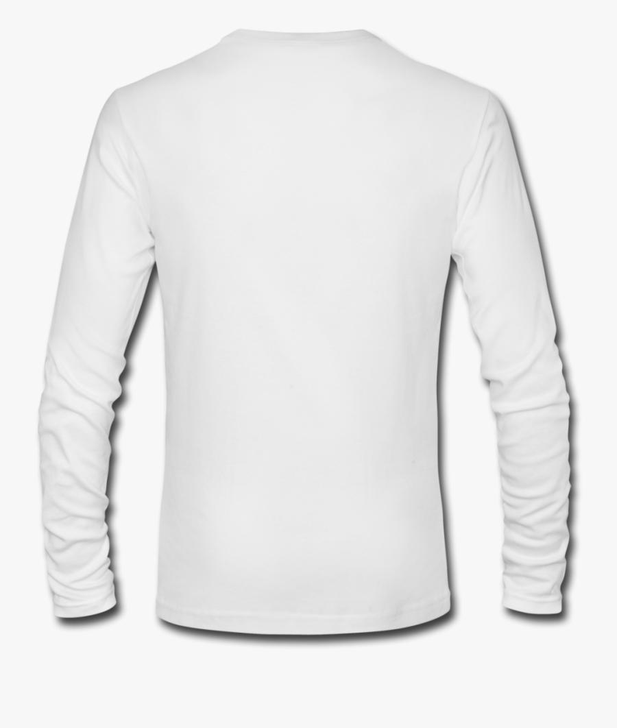 Best One Piece Shanks White Long Sleeve T - Plain White Long Sleeve Shirt Back, Transparent Clipart