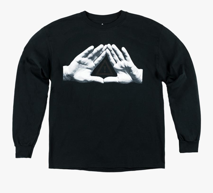 Shirt Clipart Long Sleeve Shirt - Long-sleeved T-shirt, Transparent Clipart