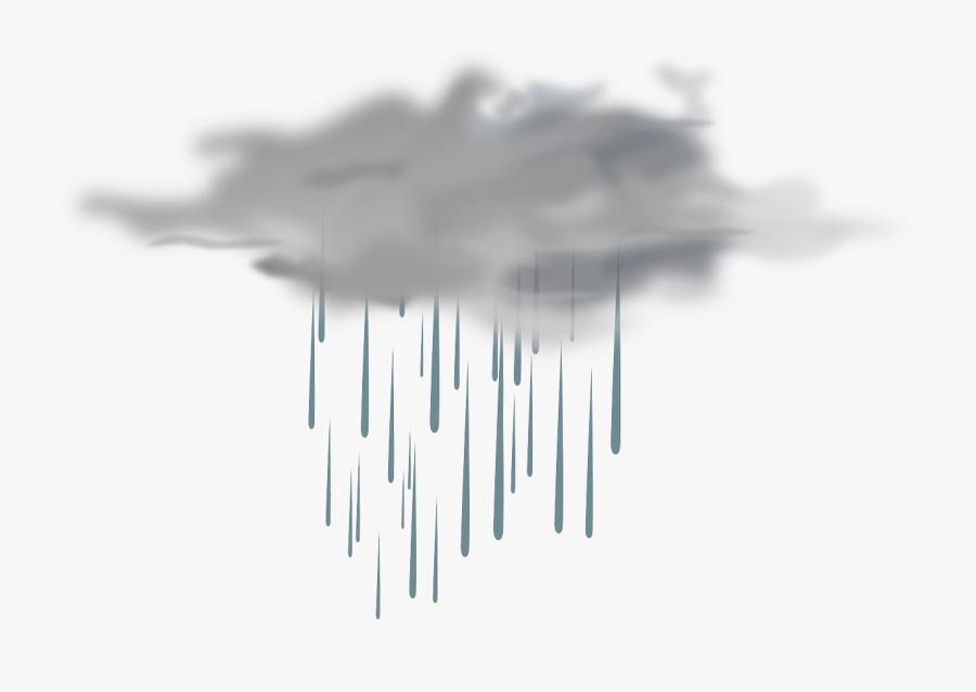 Transparent Clouds Png - Nube De Lluvia Png, Transparent Clipart